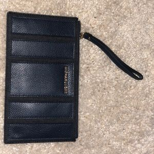 Michael Kors Navy Blue Clutch